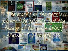 Proverbs12wordswisehealingsalphotobiz